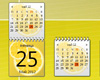 Fruity Calendar - Lemon