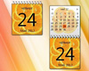 Fruity Calendar - Orange