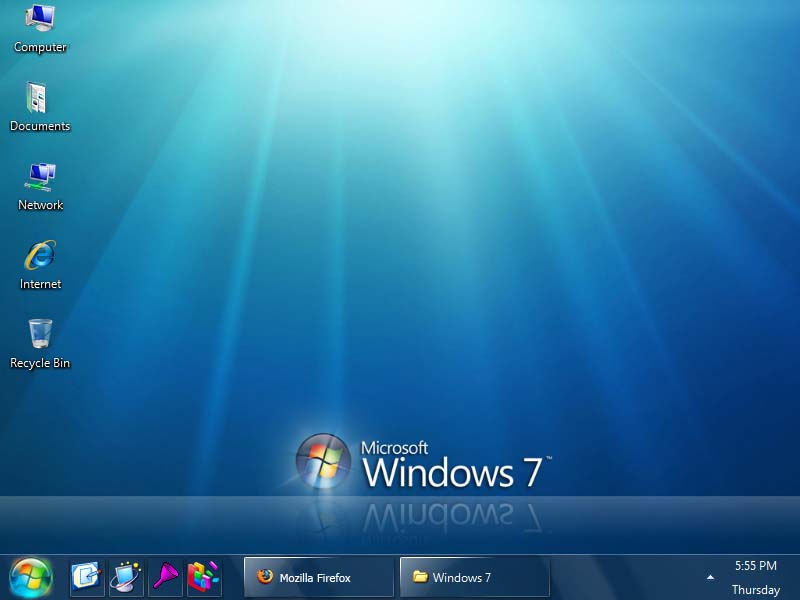 Тема Windows 7 для Windows XP